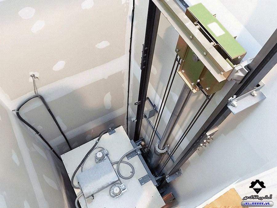 آسانسور-موتور