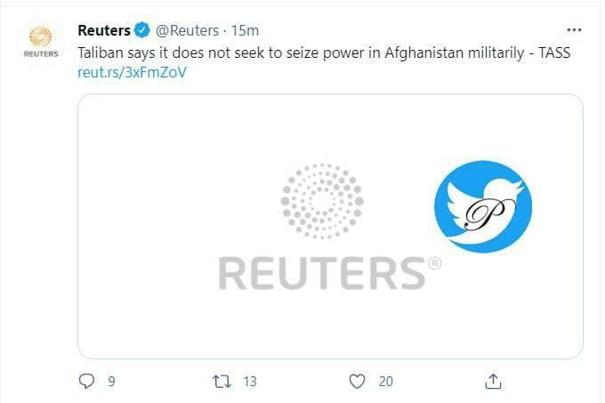 طالبان+توییت