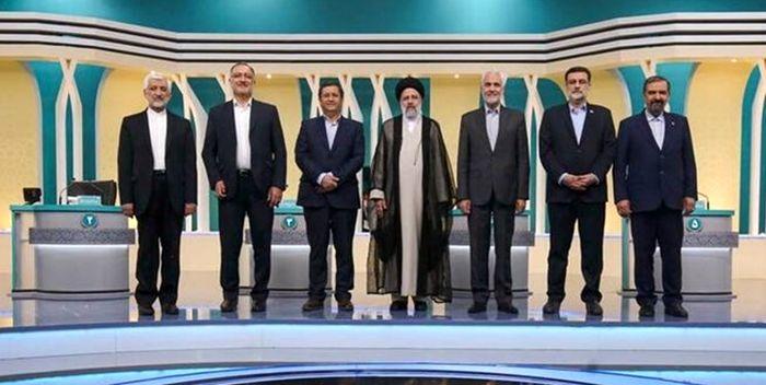 نشست مشترک کاندیداهای ریاست جمهوری با رئیسی