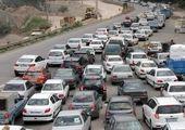 ترافیک سنگین در محور قزوین به تهران
