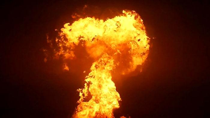 بررسی علت وقوع انفجار در دریای خزر