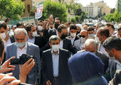 یک وزیر دیگر احمدی نژاد در انتخابات ثبت نام کرد + عکس و فیلم
