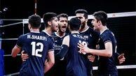 باخت تیم والیبال ایران در یک بازی سخت و نفس گیر