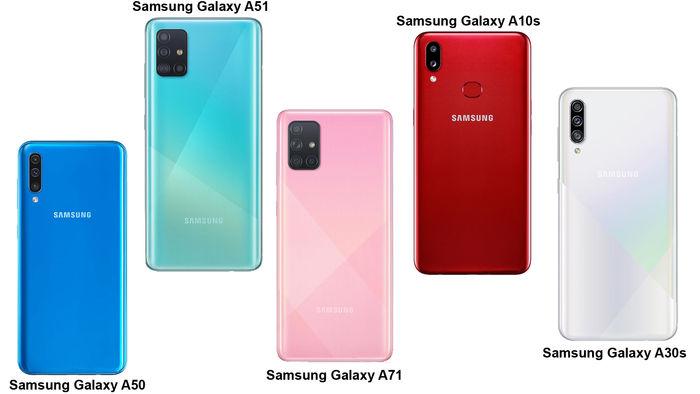 قیمت گوشی های سامسونگ سری A در بازار موبایل + جدول