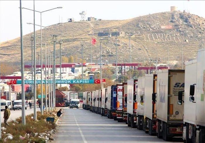 آخرین وضعیت تردد کامیون ها در مرز بازرگان
