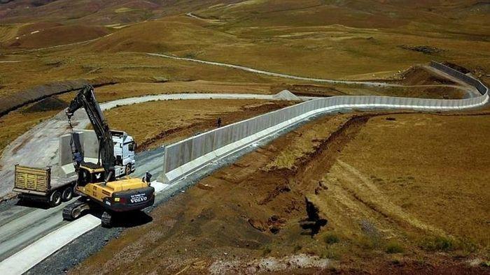 دیوارکشی بین ایران و ترکیه!