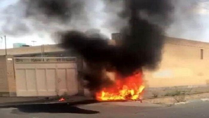 یک پهپاد وزارت دفاع سقوط کرد