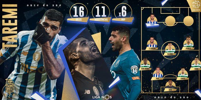 ستاره ایرانی در تیم منتخب فصل پرتغال قرار گرفت