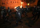 درگیری فلسطینیها و صهیونیستها بالا گرفت + فیلم