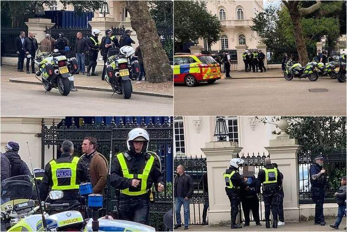 حمله به سفیر عربستان در لندن + عکس