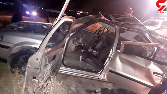 له شدن وحشتناک خودروی سمند ۲ نفر را کشت!+عکس