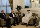 دیدار ظریف با شخصیت های اهل تسنن عراق