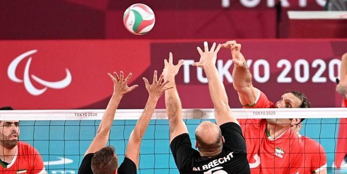 دومین برد والیبال نشسته ایران با شکست برزیل