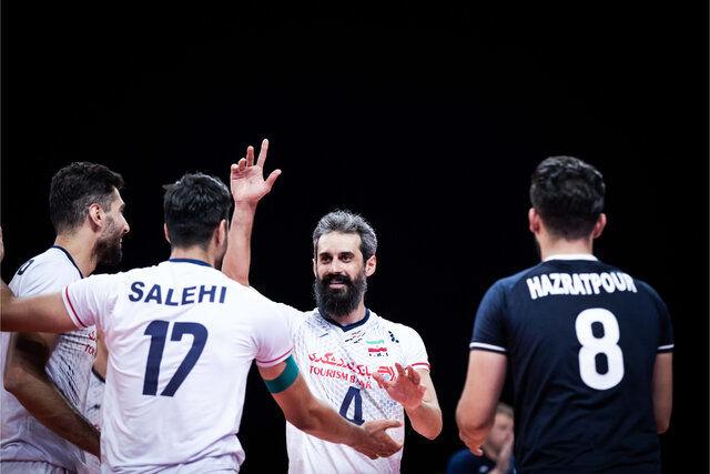 صعود والیبال ایران به رده ششم جهان + جدول