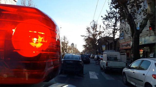 تعقیب و گریز هالیوودی در خیابان های تهران