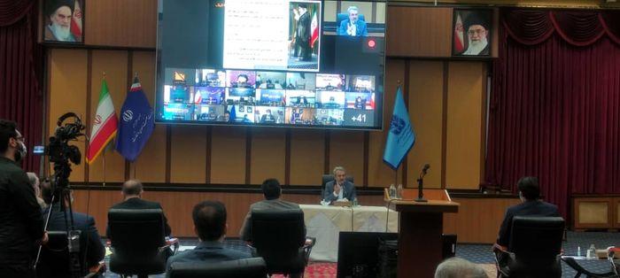 جلسه آشنایی فاطمی امین با مدیران ارشد صنعتی کشور