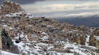 بارش برف در روزهای گرم مازندران+فیلم