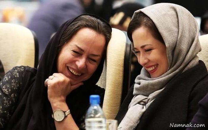 همسر محمدرضا شریفی نیا از همسر دومش رونمایی کرد   عکس آزیتا حاجیان