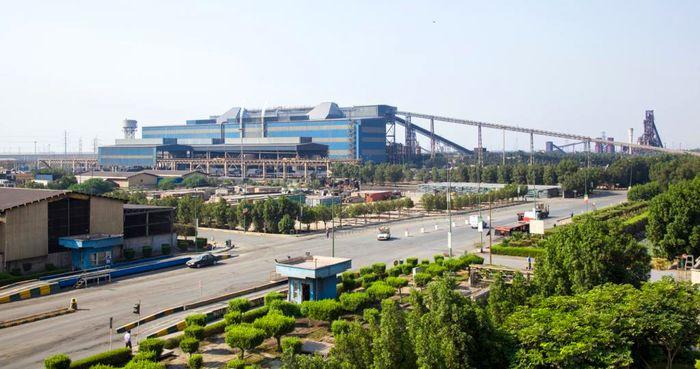 افزایش تولید آهن اسفنجی در فولاد هرمزگان