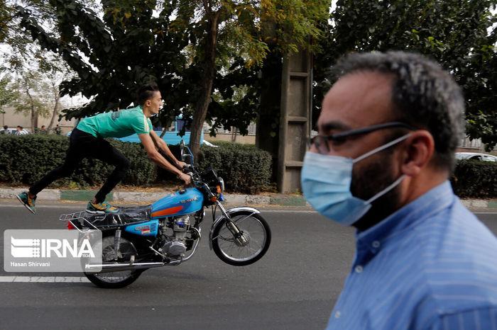 تصاویر / تکچرخ در تهران!