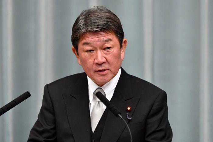 ورود وزیرخارجه ژاپن به ایران
