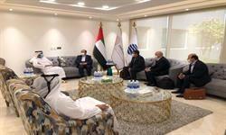 مذاکرات زمانی با رئیس هیات مدیره اکسپوی ۲۰۲۰ دوبی