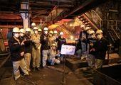 ثبت رکورد تولید کیفی تختال در فولاد هرمزگان