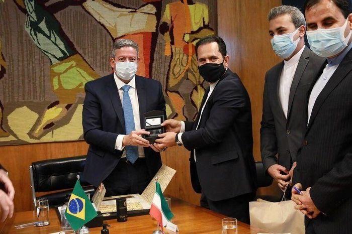 سفیر ایران با رییس مجلس نمایندگان برزیل دیدار کرد