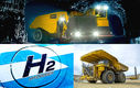 دامپتراک های آینده هیدروژن میسوزانند