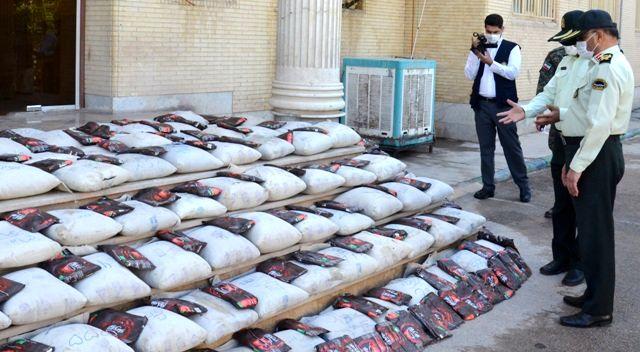 کشف ۸۱۴ کیلو تریاک از منزل مسکونی در کرمان