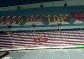ورزشگاه آزادی برای دربی ۹۴ رنگ آمیزی شد