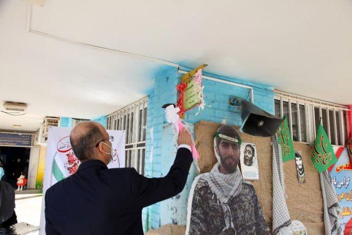 مراسم آغاز سال تحصیلی با حضور مسئولان فولاد خوزستان + تصاویر