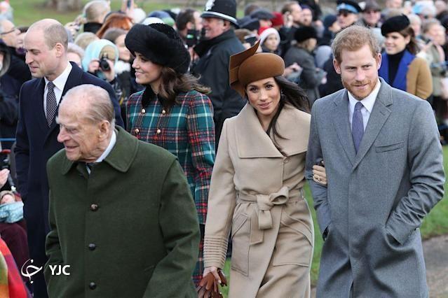 عروس جنجالی ملکه انگلیس در مراسم خاکسپاری شرکت می کند؟