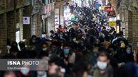 تصاویر/ رژه موج چهارم کرونا در بازار تهران