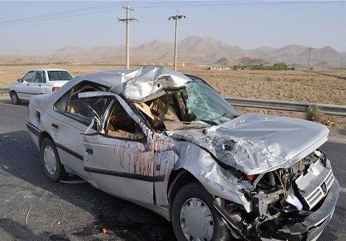 ۱۴ کشته در تصادف خونین فقط سه خودرو !