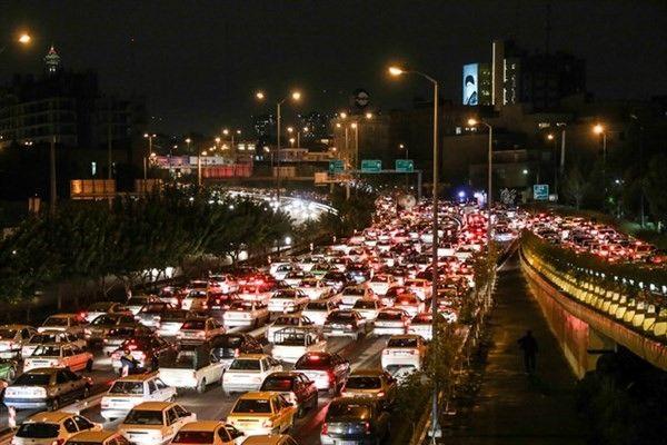 آخرین وضعیت ترافیکی پایتخت ( ۲۹ تیر)