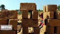 تصاویر/ همکاری کودکان در کورههای آجرپزی