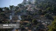 تصاویر/ پدیده هرساله جنگلسوزی در زاگرس
