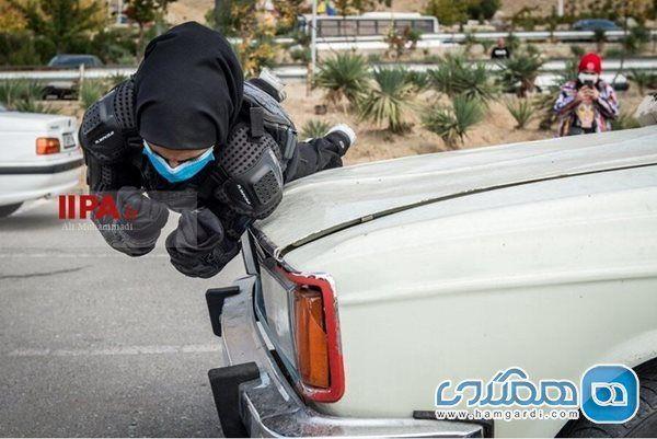تصاویر/ نخستین  بانوان بدلکار ایران