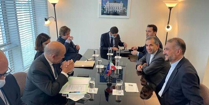 امیرعبداللهیان با وزیر خارجه فرانسه دیدار کرد + عکس