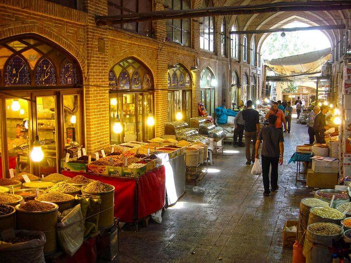 دهان کجی بازار تهران به مصوبه ستاد کرونا و تعطیلی ۶ روزه + تصاویر