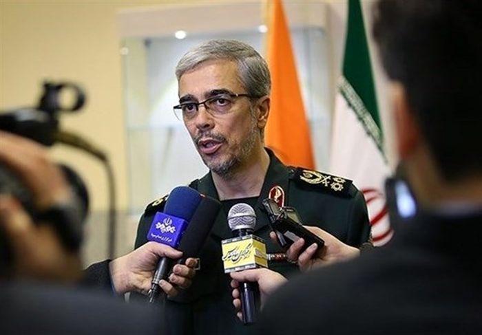 سرلشکر باقری:وضعیت امنیتی مرزها رضایت بخش است