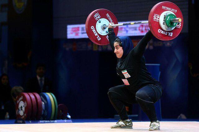 تاریخیترین سهمیه وزنهبرداری المپیک ایران