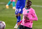 پیروزی  بارسلونا مقابل وایادولید در دقیقه ۹۰ بازی