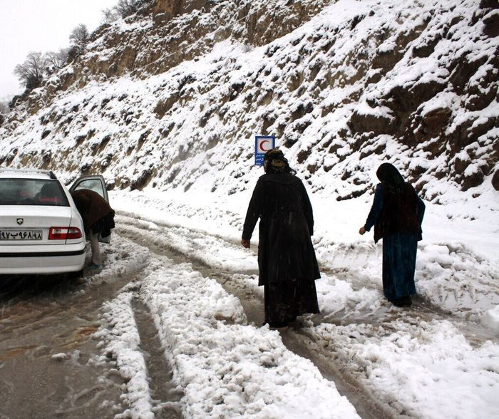 از امروز شروع برف و باران در ایران