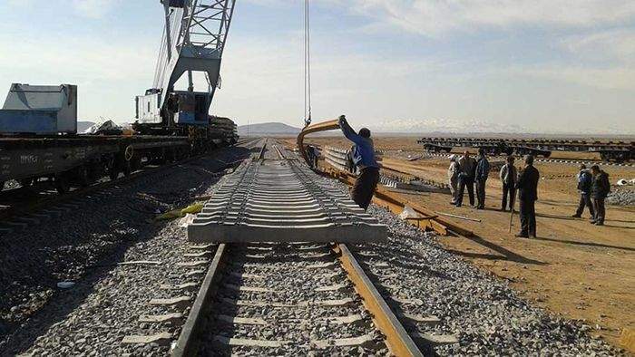 عبور مسیر ریلی خطآهن چابهار از زیر زمین