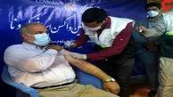 استاندار نخستین دُز واکسن برکت را تزریق کرد
