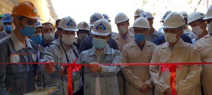 افتتاح ۶ پروژه در مجتمع سرب نخلک