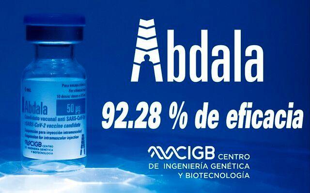 واکسن آبدالا اثربخشی ۹۲ درصدی دارد!