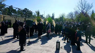 برگزاری مراسم خاکسپاری آزاده نامداری + فیلم و تصاویر